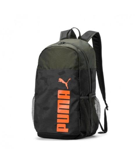 Τσάντα πλάτης χακί/μαύρη Puma Style Backpak Aop 076703-05