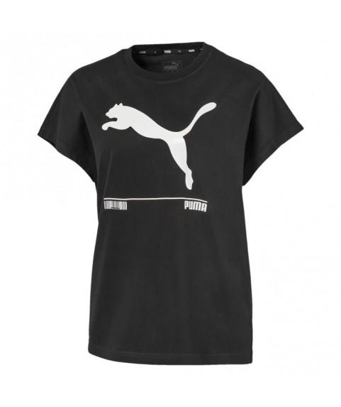 Μπλούζα t-shirt Puma Nu-Tility γυναικείο μαύρο