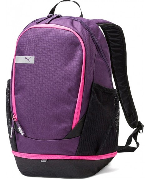 Puma Vibe Backpack Black Purple  075491-05