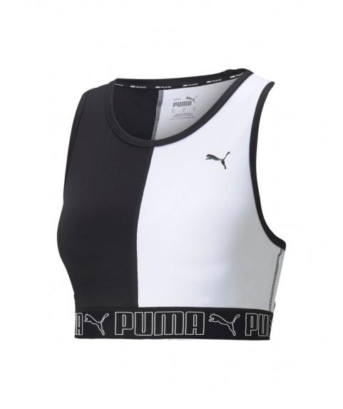 Γυναικείο Αθλητικό Μπουστάκι Train Puma Elastic Crop Top 520374-01