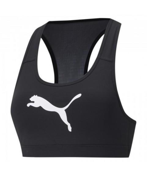 Γυναικείο Αθλητικό Μπουστάκι Puma Mid Imact 4Keeps Graphic Black 520306-90