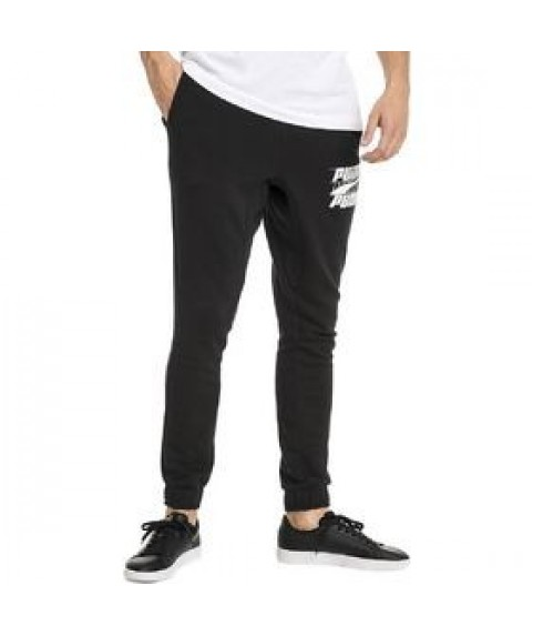 Rebeld Bold Sweatpants Black