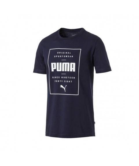 Puma Box Tee Navy Blue 854076-06