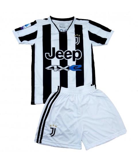 Παιδικό Σετ Ποδοσφαίρου Dybala Jentus Άσπρο-Μαύρο 3077