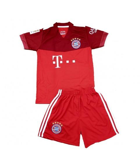 Παιδικό Σετ Ποδοσφαίρου Bayern Lewandowski Κόκκινο-Μπορντό 3081