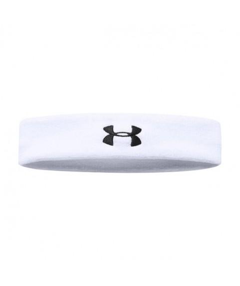 UA Performance Headband White