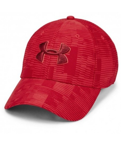 Under Armour Men's Printed Blitzing Red