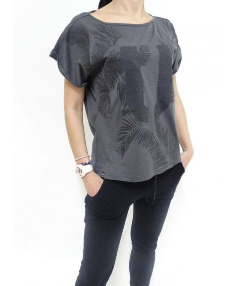 T-SHIR PALM TEE CARBON