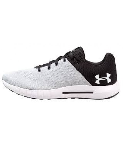 Under Armour Micro G Pursuit Road Running Shoe grey