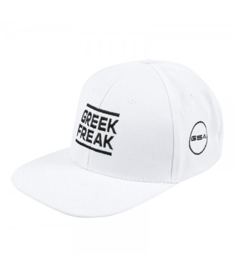 Gsa GREEK FREAK ORIGINAL PERFORMANCE HAT WHITE