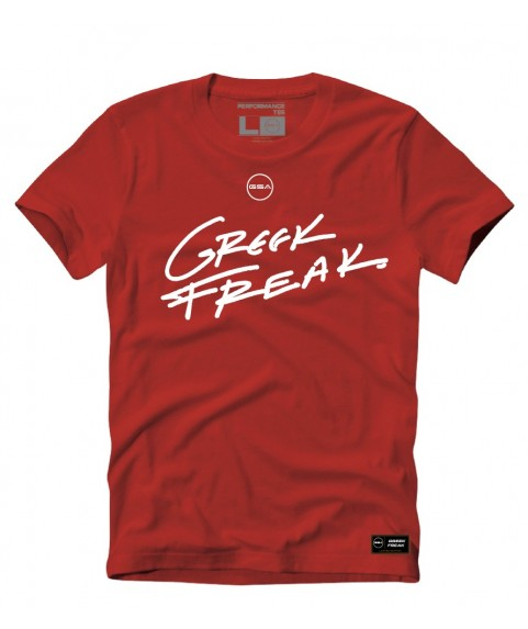 THE ORIGINAL GREEK FREAK Kids T-Shirt Red