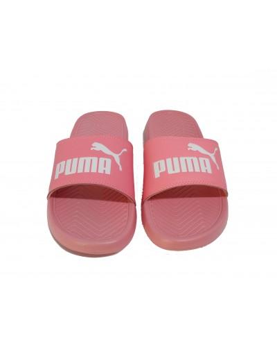Zoom Puma Popcat Unisex Slide in Peach 360265-25