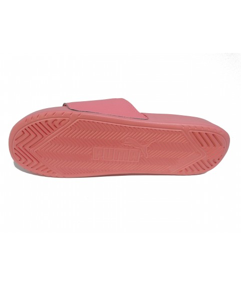 Zoom Puma Popcat Unisex Slide in Peach