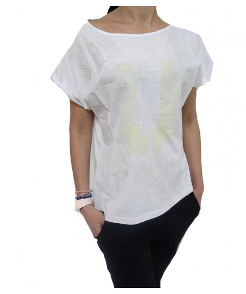 T-SHIR PALM TEE  WHITE