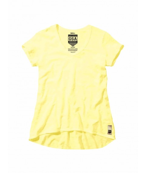 GLORY & HERITAGE Loose V-neck Yellow