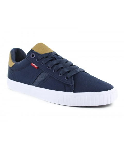 LEVI'S CASUAL LOW CUT NAVY BLUE
