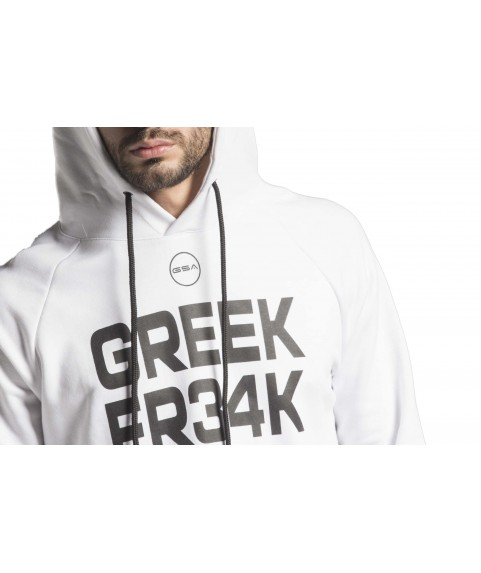 GSA GREEK FREAK Supercotton Hoodie White