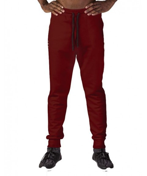 SUPERCOTTON JOGGERS SWEATPANTS VICTORIOUS RED