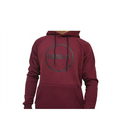 SUPERCOTTON HOODIE LOGO VICTORIOUS RED