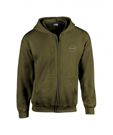 GSA SUPERCOTTON ZIPPER HOODIE (KIDS) COMBAT