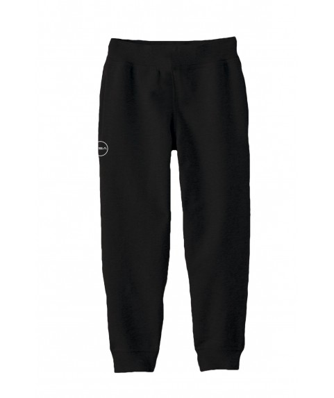 SUPERCOTTON JOGGERS SWEATPANTS (KIDS) BLACK 2