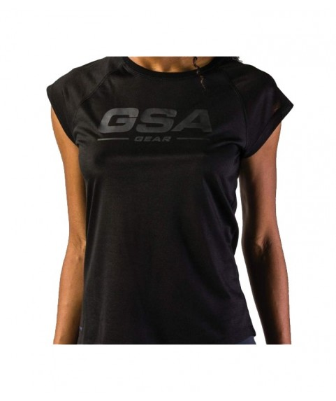 GSAHYDRO Graphic Tee Ultra Light Jet Black