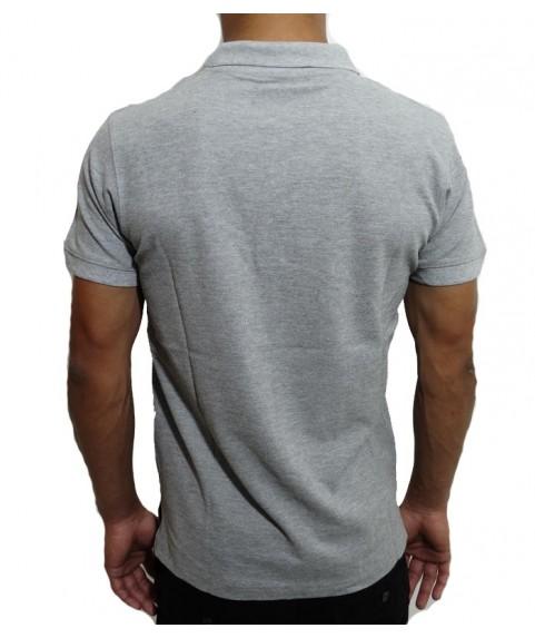 Ανδρική Polo Μπλούζα Grey Mell