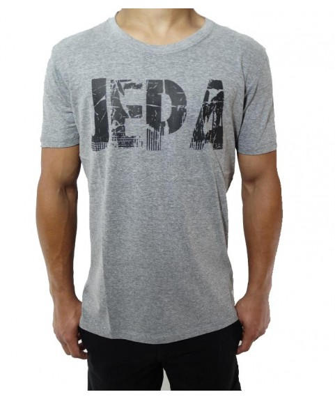 Original Graphic Tee Whith Print Grey Mel Jepa