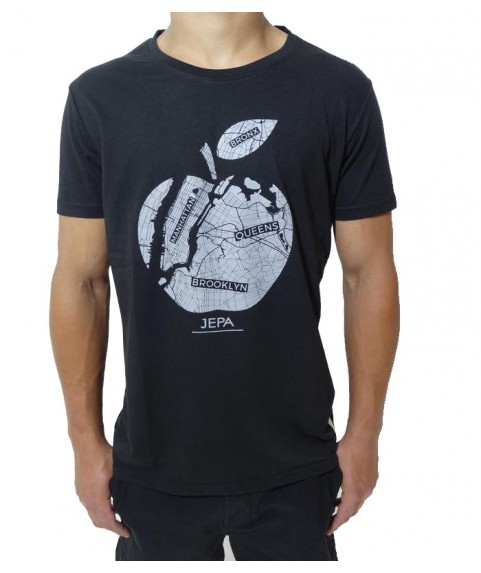 T-shirt jepa Tee Whith Print Jet Black B