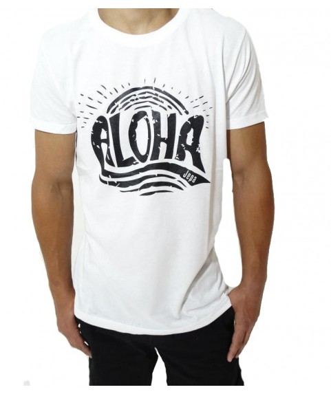 Original Graphic Tee Whith Print Star White A