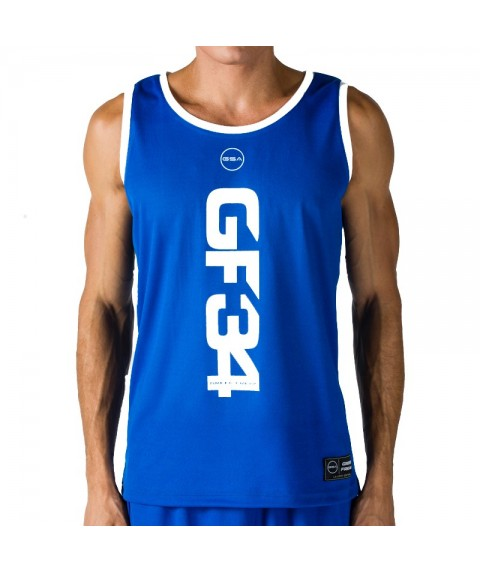 GSA GREEK FREAK Tank Top  ROYAL BLUE 34-18003-01