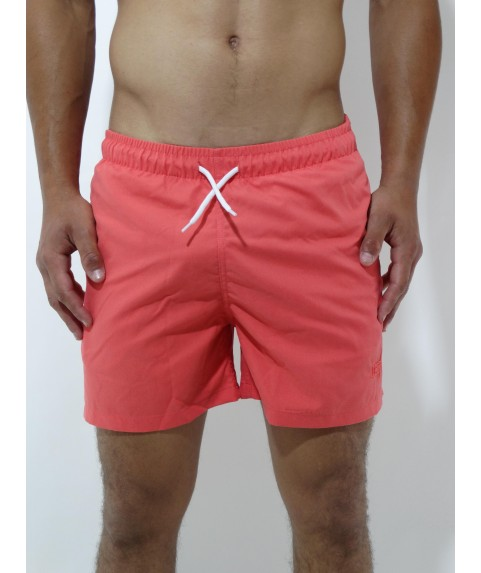 CLASSIC SWIMSHORTS WITH EMBROIDERY LOGO CAYENNE