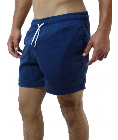 CLASSIC SWIMSHORTS WITH EMBROIDERY LOGO INK