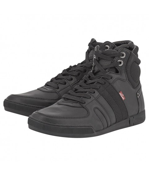Sneakers Mid Cut Levis Black