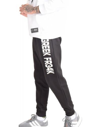 GREEK FREAK SWEATPANTS BLACK
