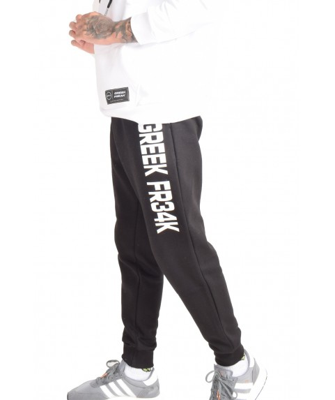 GREEK FREAK SWEATPANTS BLACK