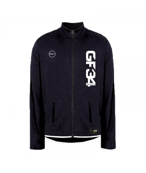 GREEK FREAK MOCK JACKET BLACK