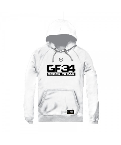 GREEK FREAK HOODIE WHITE