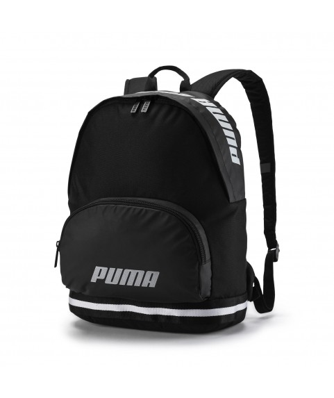 Puma Core Backpack Black/White 075709-01