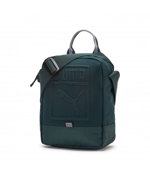 Puma Shoulder Bag Dark Green 075582-06
