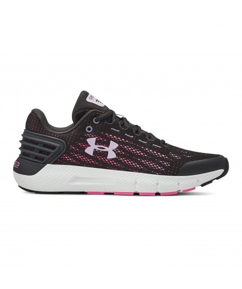Under Armour GGS Charged Rogue Shoes Black/Pink 3021617-100