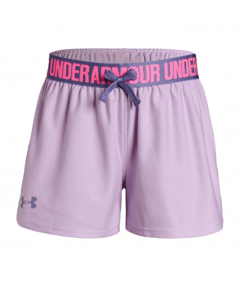 UNDER ARMOUR SHORTS PLAY UP GIRL LILA