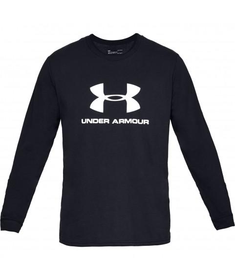 Under Armour Sportstyle Logo Long Sleeve Black