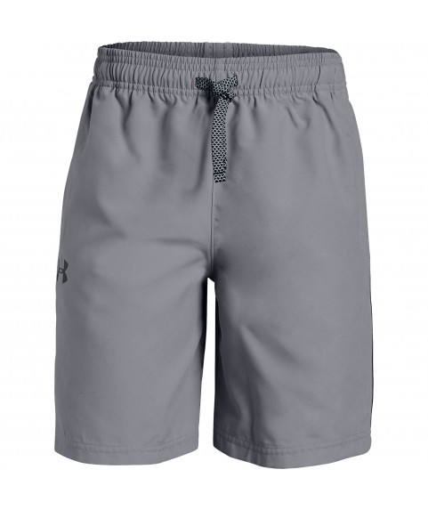 Under Woven Graphic Shorts  Armor Boys Grey
