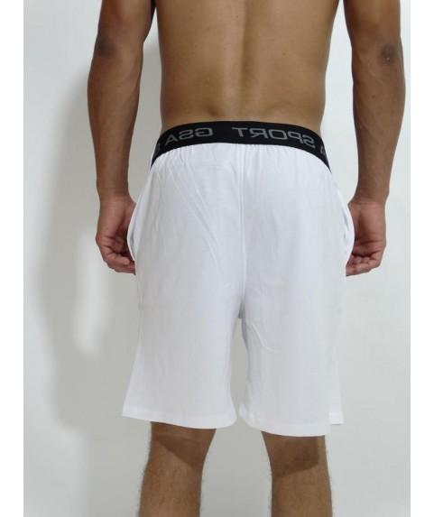 GSA Supercotton Jersey Shorts Star White