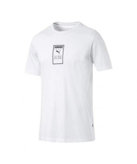 Puma Brand Placed Men's Tee White 854075-02