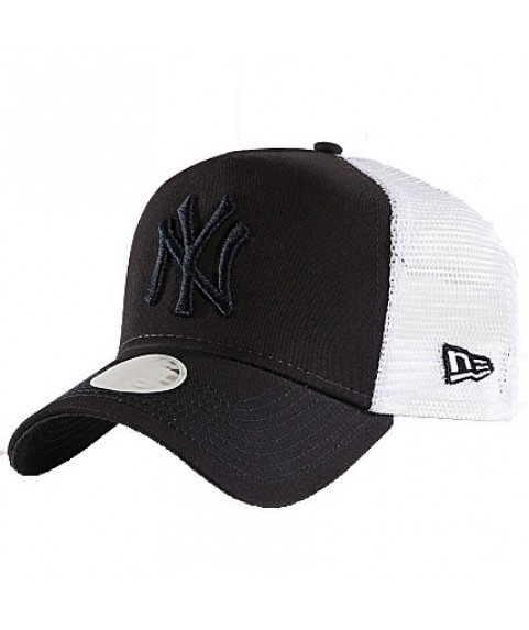 New Era Casquette Trucker Femme New York Yankees Essential Blue Marine 11945545