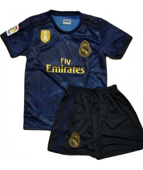 Παιδικό Σετ Ποδοσφαίρου Real Madrid-Hazard Μπλε 7101