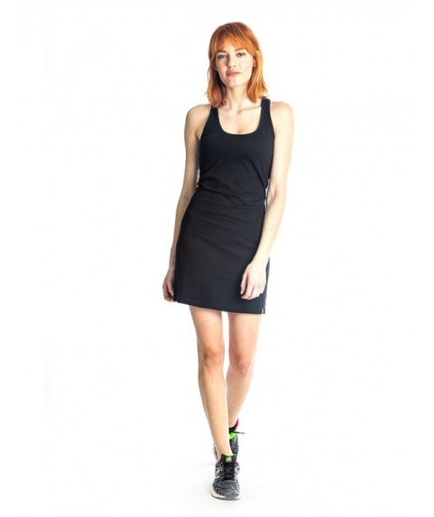 Φόρεμα Paco & Co ''Short Tank Dress Y-Back'' μαύρο 86102-01